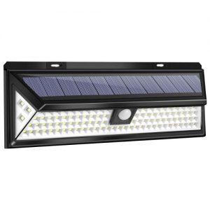 Solárne nástenné LED svietidlo
