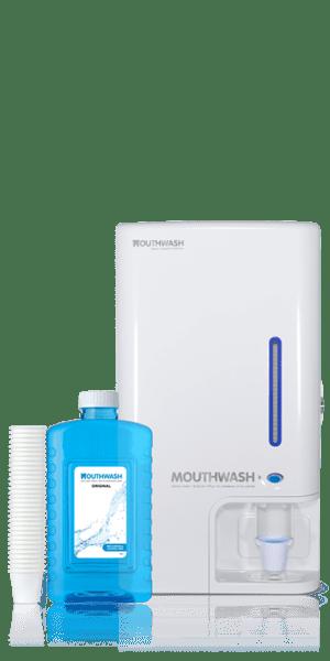 SET – Automatický dávkovač a ústna voda Mouthwash