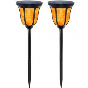 Solarna LED fakla